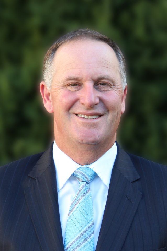 Rt John Key GNZM AC
